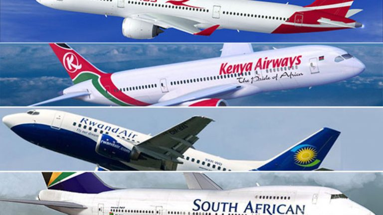 Ethiopian Airlines and Kenya Airways named Africa's Leading Airlines across all categories