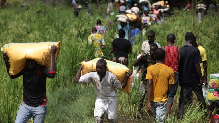 Nigerian looters target COVID-19 aid stored in government warehouses
