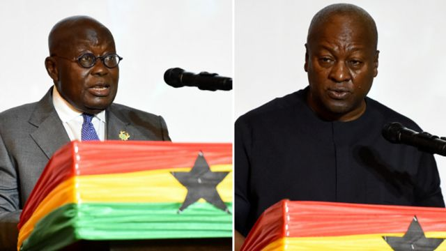"""Nana or Mahama? Ghanaians choose between present and past in Africa's """"dullest"""" election"""