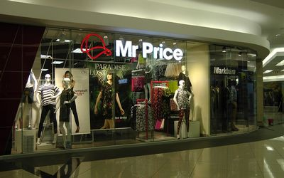 South Africa's Mr Price sales up 5.8% in third-quarter